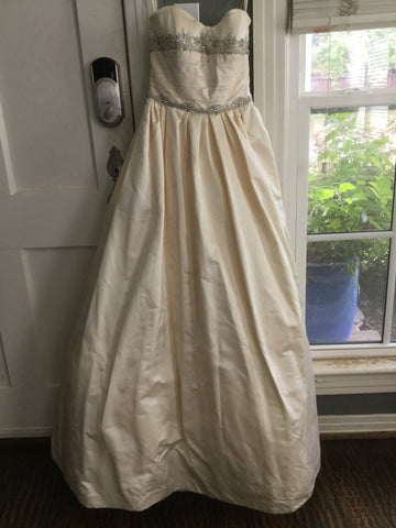 Priscilla of Boston 'Strapless Sweetheart Ballgown'