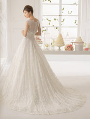 Aire Barcelona 'Azzurro' - aire barcelona - Nearly Newlywed Bridal Boutique - 5