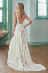 Jasmine 'F201007' size 6 sample wedding dress back view on model