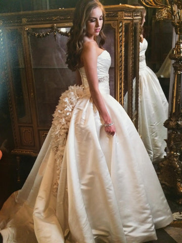 Pnina Tornai 'Satin Ball Gown'