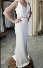 Load image into Gallery viewer, Lis Simon 'Hilton' size 10 new wedding dress front view on bride