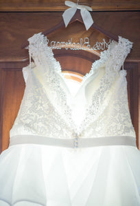 Mori Lee 'unknown' wedding dress size-24 PREOWNED