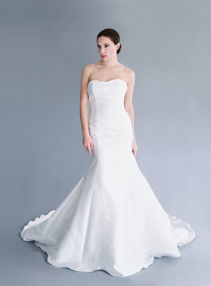 Jaclyn Jordan 'Marie' size 8 sample wedding dress front view on model