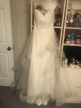 Load image into Gallery viewer, Marisa 'Morilee' size 2 sample wedding dress front view on hanger