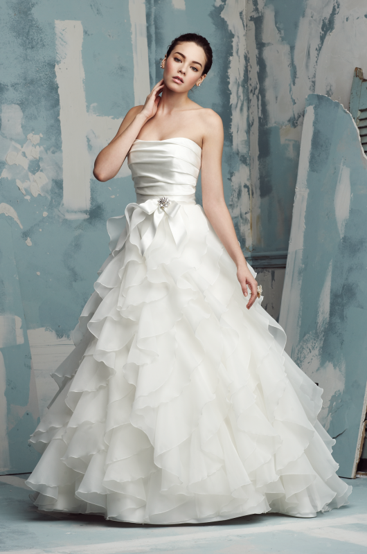 Paloma Blanca Style #4116 - Paloma Blanca - Nearly Newlywed Bridal Boutique - 1