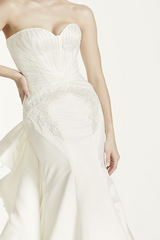 Zac Posen 'Strapless Duchess' - zac posen - Nearly Newlywed Bridal Boutique - 3