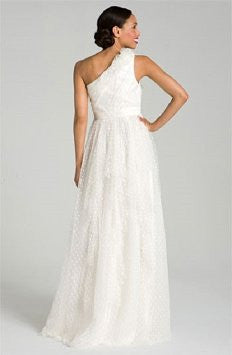 Carmen Marc Valvo 'Dotted Tulle' - Carmen Marc valvo - Nearly Newlywed Bridal Boutique - 3