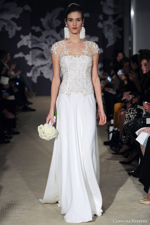 Carolina Herrera 'Charlie' - Carolina Herrera - Nearly Newlywed Bridal Boutique - 1