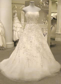 Carolina Herrera 'Franz Xavier Winterhalter' - Carolina Herrera - Nearly Newlywed Bridal Boutique - 2