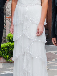 Jenny Packham 'Cascade' Wedding Dress - Jenny Packham - Nearly Newlywed Bridal Boutique - 3