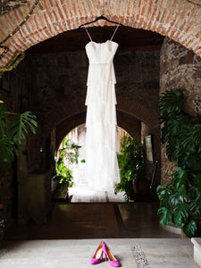 Jenny Packham 'Cascade' Wedding Dress - Jenny Packham - Nearly Newlywed Bridal Boutique - 2
