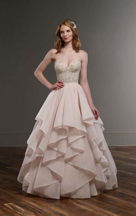 Martina Liana 'Ciara bodice and Stevie skirt' - Martina Liana - Nearly Newlywed Bridal Boutique - 1