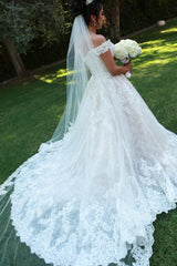 Allure 'C461' size 10 used wedding dress back view on bride