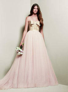 White by Vera Wang 'Blush and Gold Ballgown'