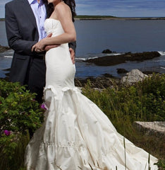 Vera Wang 'Ivory Dress' - Vera Wang - Nearly Newlywed Bridal Boutique - 1