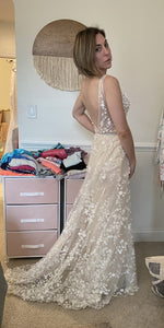 BERTA 'Berta 18-10' wedding dress size-04 PREOWNED