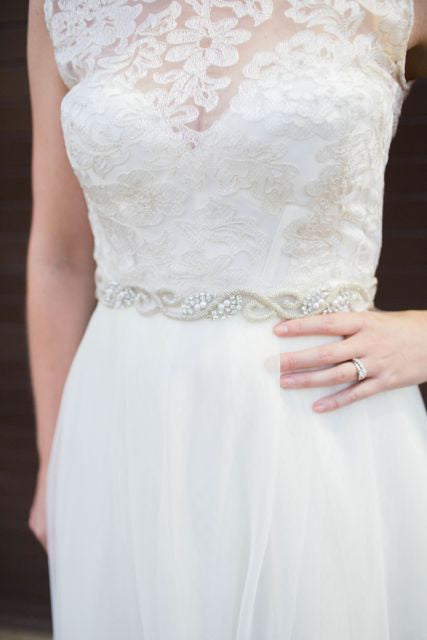 Sarah Seven Field of Flowers Wedding Dress - Sarah Seven - Nearly Newlywed Bridal Boutique - 2