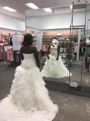 David's Bridal 'Strapless Tulle'
