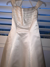 Load image into Gallery viewer, Mori Lee 'Off The Shoulder' size 4 used wedding dress front view on hanger