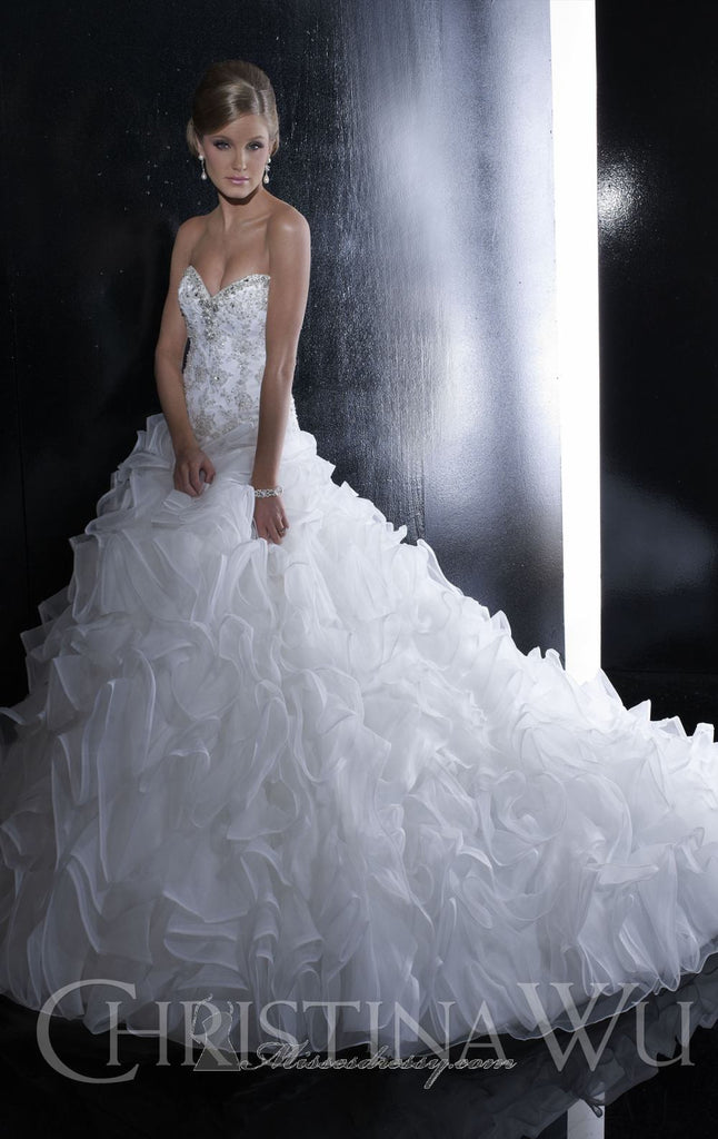 Christina Wu 15515 - Christina Wu - Nearly Newlywed Bridal Boutique - 4