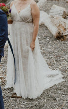 Load image into Gallery viewer, Allure Bridals 'Wilderly / Aria' size 16 used wedding dress front view on bride