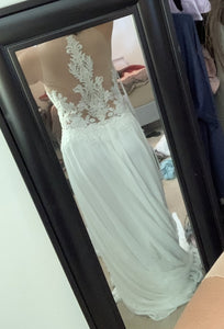 Allure Bridals '9510' wedding dress size-14 NEW