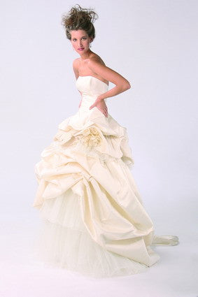 Domo Adami Two Piece Ball Gown - domo adami - Nearly Newlywed Bridal Boutique - 5