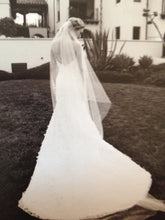 Load image into Gallery viewer, Kirstie Kelly 'Giselle' size 6 used wedding dress back view on bride