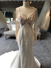 Galia Lahav 'Alora' size 6 new wedding dress front view on mannequin