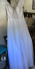Maggie Sottero 'monarch' wedding dress size-06 NEW