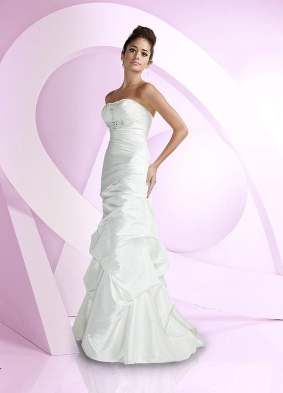 Impression Bridal 'Destiny' size 12 new wedding dress front view on model
