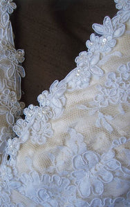 Custom 'Lace and satin' - Customed Designed - Nearly Newlywed Bridal Boutique - 2