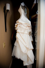 Domo Adami Two Piece Ball Gown - domo adami - Nearly Newlywed Bridal Boutique - 4