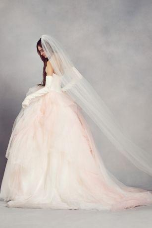 White by Vera Wang 'Ombre Tulle'