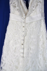 Yvonne LaFleur 'V-Neck Lace' - Yvonne LaFleur - Nearly Newlywed Bridal Boutique - 2