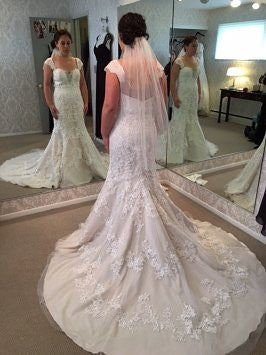 Pearl Bridal '1060' - pearl bridal - Nearly Newlywed Bridal Boutique - 2