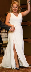 Pronovias 'Maranta' size 6 used wedding dress front view on bride