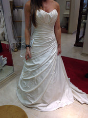 Simone Carvalli Style 7169 - Simone Carvalli - Nearly Newlywed Bridal Boutique - 2