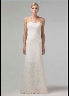 Monique Lhuillier 'Strapless' - Monique Lhuillier - Nearly Newlywed Bridal Boutique - 4