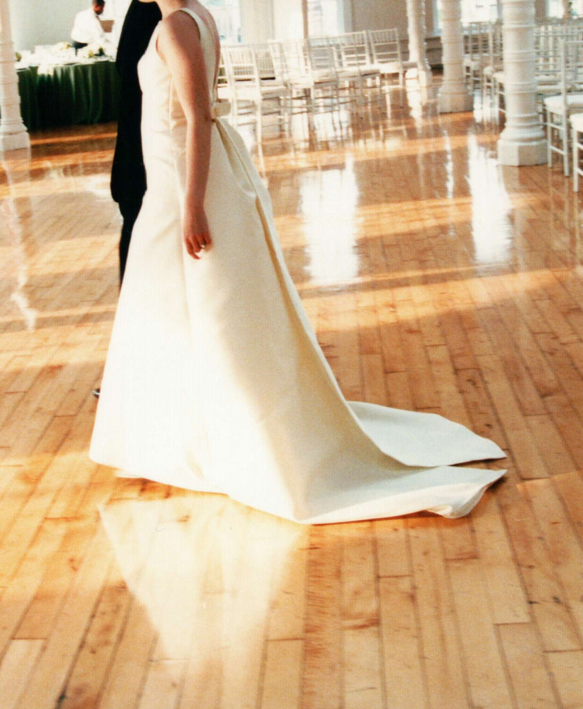 Vera Wang Custom Couture Wedding Dress - Vera Wang - Nearly Newlywed Bridal Boutique - 5