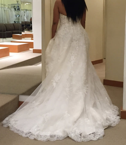 Demetrios 'Ivory Beaded'