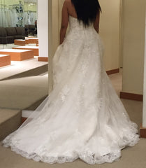 Demetrios 'Ivory Beaded' - Demetrios - Nearly Newlywed Bridal Boutique - 1