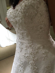 Demetrios 'Ivory Beaded' - Demetrios - Nearly Newlywed Bridal Boutique - 2