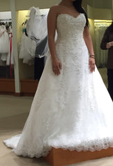 Demetrios 'Ivory Beaded' - Demetrios - Nearly Newlywed Bridal Boutique - 3