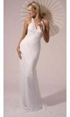 Amy Michelson 'Ballet' size 2 new wedding dress front view on model