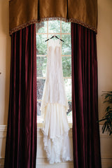 Essence of Australia '2174' size 2 used wedding dress front view on hanger