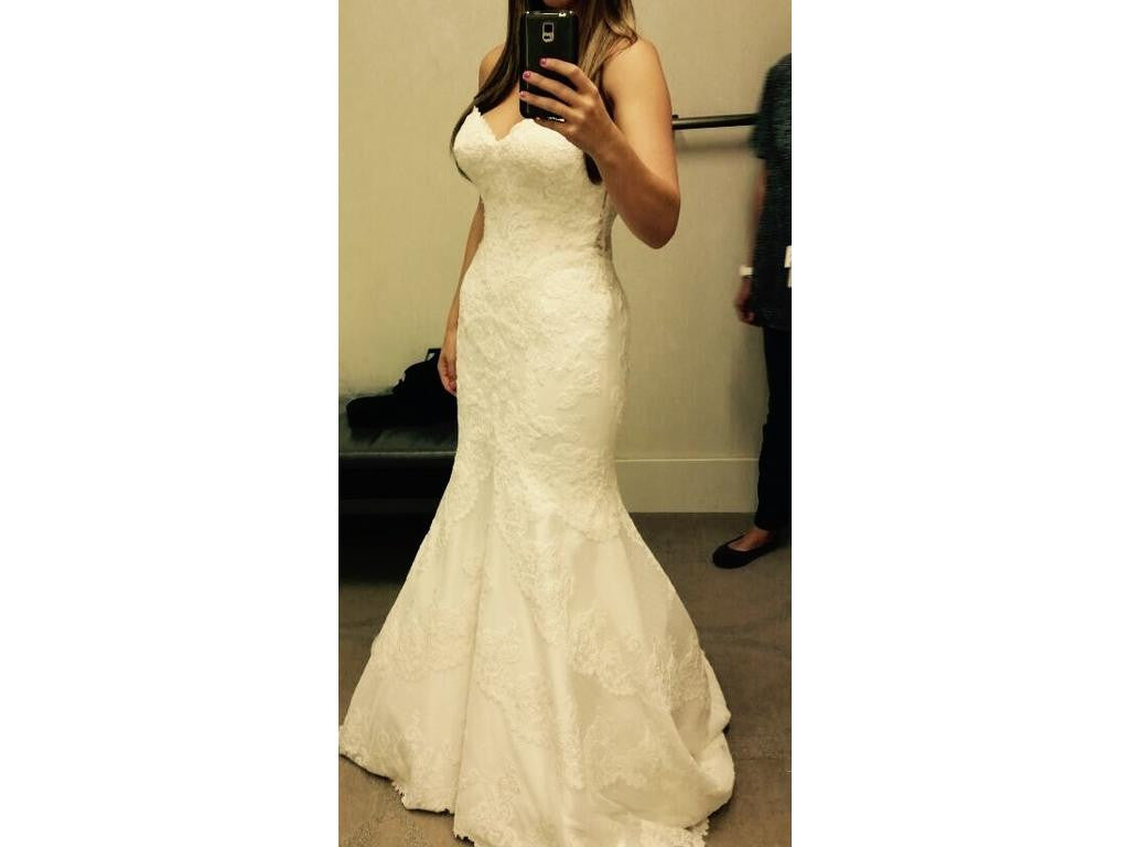 Matthew christopher 39 emma 39 size 4 used wedding dress for Matthew christopher wedding dress prices