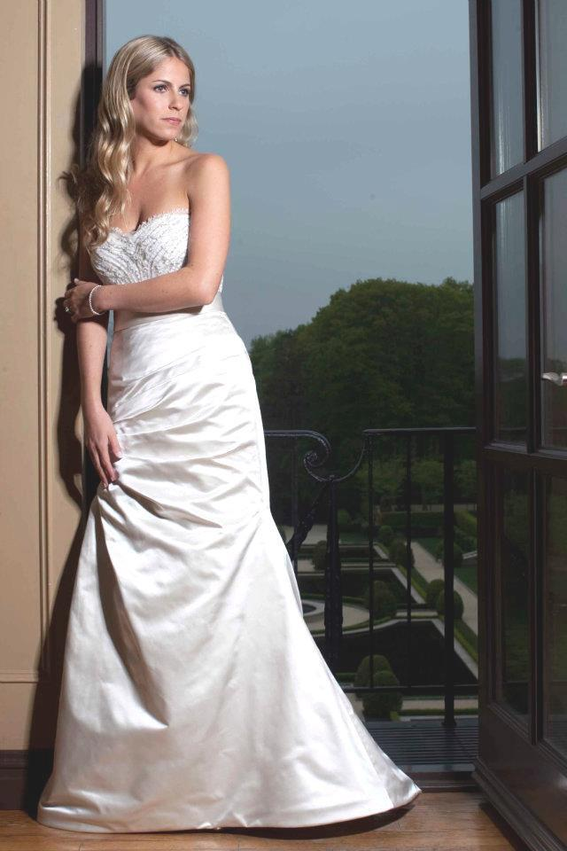Monique Lhuillier Magical Skirt & Lavender Corset - Monique Lhuillier - Nearly Newlywed Bridal Boutique - 2