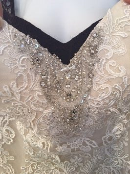 Pearl Bridal '1060' - pearl bridal - Nearly Newlywed Bridal Boutique - 5