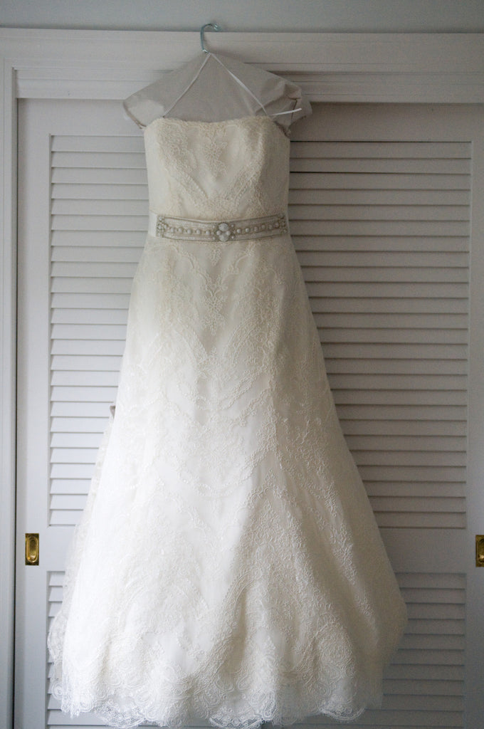 Monique Lhuillier 'Ava' - Monique Lhuillier - Nearly Newlywed Bridal Boutique - 3